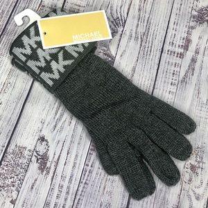 MICHAEL Michael Kors Women's Gloves MK Logo